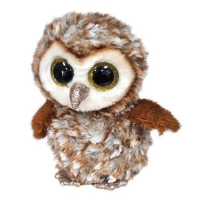 Ty Beanie Boos 6 Inch Regular Size Percy Barn Owl