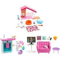 Barbie Furniture Indoor Accessories - Assorted