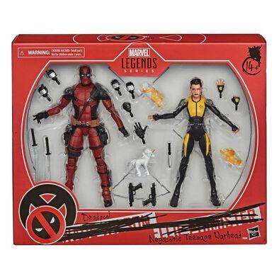 Marvel Legends Series  X-Men Deadpool and Negasonic Teenage Warhead