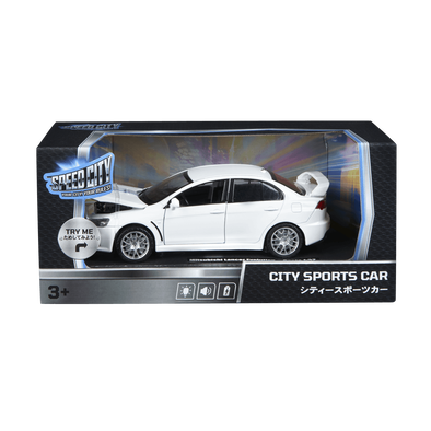 Speed City City Street Car