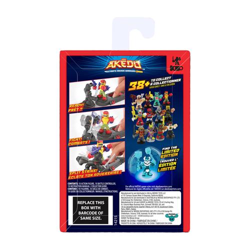 Akedo Series 1 Single Pack - Assorted