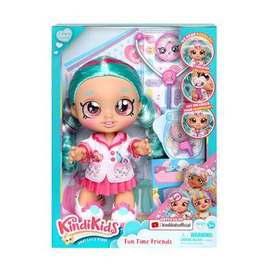 Kindi Kids S3 Fun Time Doll - Dr Cindy