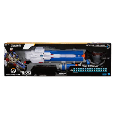 NERF Rival Overwatch Soldier 76 Collector Pack