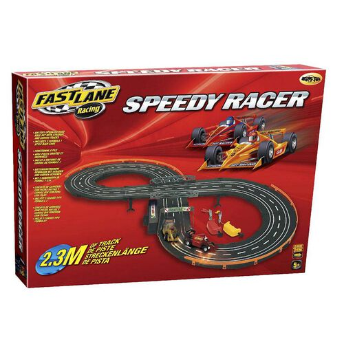 Fast Lane Speedy Road Racing Set