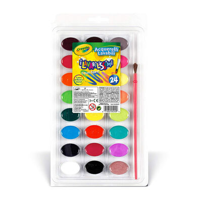 Crayola Washable Watercolor 24-Pan