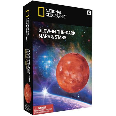 National Geographic Glow In The Dark 3D Mars And Stars