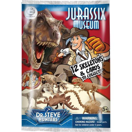 Uncle Milton Dr. Steve Hunters Jurassic Museum Blind Pack
