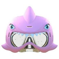 Aqua Creatures Shark Squirterz & Swim Mask Set Pink