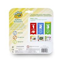 Crayola 3 Colours Safety Scissors