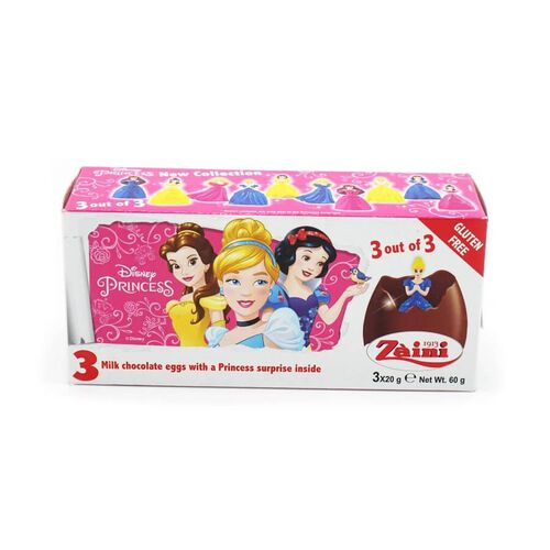 Disney Princess Milk Chocolate Eggs