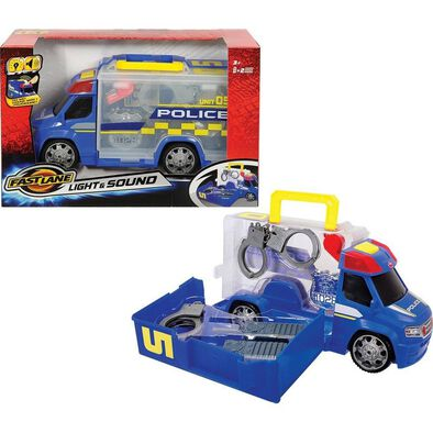 Fast Lane Police Squad With Lights and Sounds