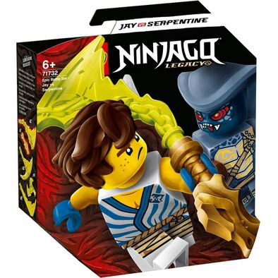 Lego Ninjago Epic Battle Set Jay vs. Serpentine 71732