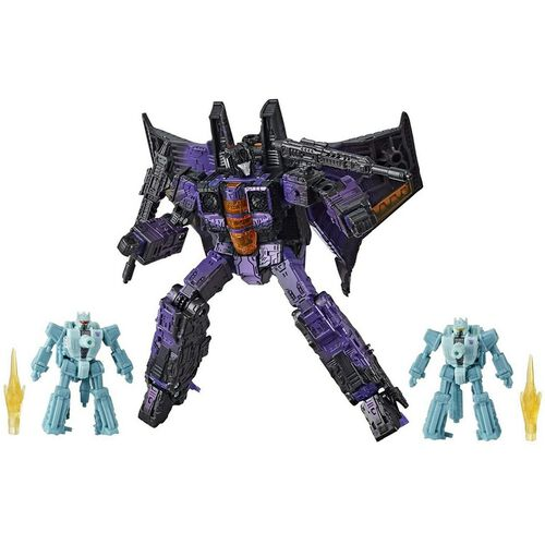 Transformers Generations War For Cybertron Trilogy Netflix Voyager - Assorted