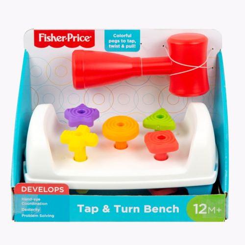 Fisher-Price Tap & Turn Bench