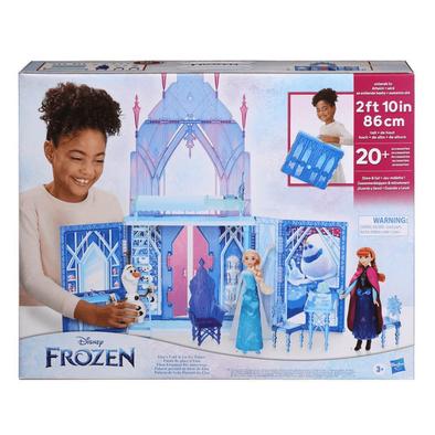 Disney's Frozen Elsa's Fold And Go Ice Palace