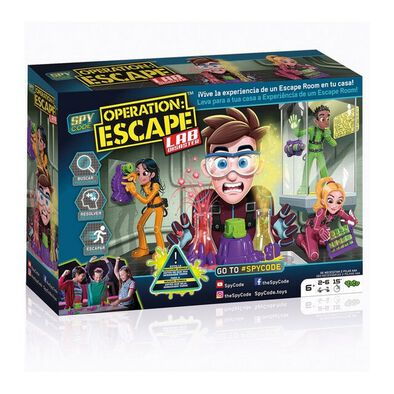 Spy Code Operation Escape Lab