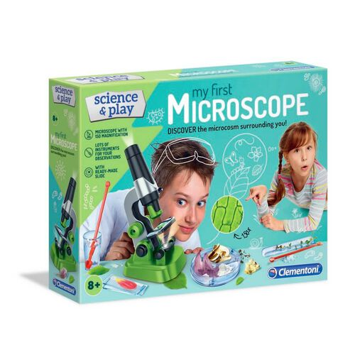Clementoni Science & Play My First Microscope