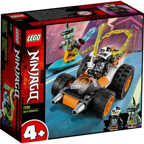 LEGO Ninjago Cole's Speeder Car 71706
