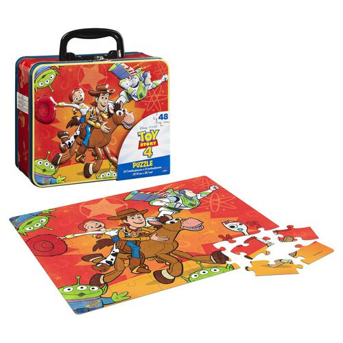 Puzzle in Tin With Handle