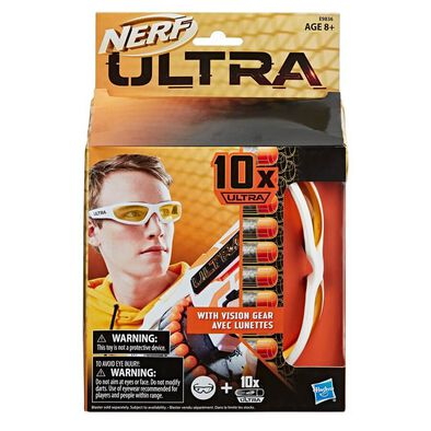 Nerf Ultra 10 Darts With Vision Gear