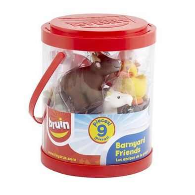BRU Pre-School Farm Animal Bucket - Assorted
