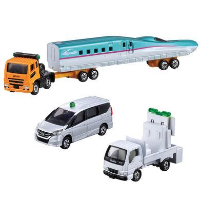 Tomica Gift Transport Trailer Set(4)