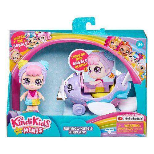 Kindi Kids Mini Rainbow Kate's Airplane