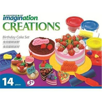 Universe Of Imagination -Birthday Cake Set