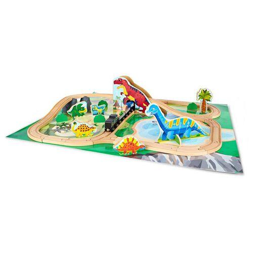 Universe of Imagination Imaginarium Dino Themed Train Set