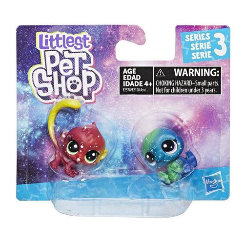 Littlest Pet Shop Cosmic Pounce Bffs 2 Pack - Assorted
