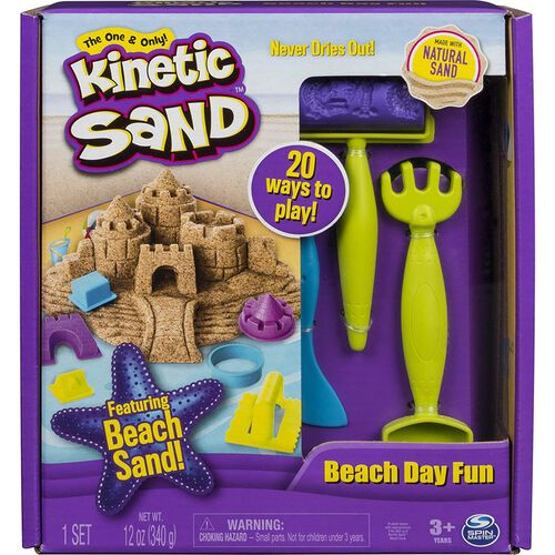 Kinetic Sand Beach Day Fun Set