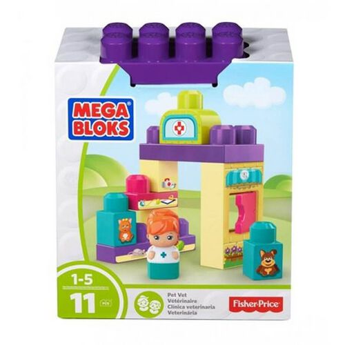 Mega Bloks First Builders Small Playset - Assorted