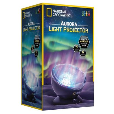 National Geographic Aurora Light Projector