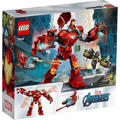 LEGO Marvel Avengers Movie 4 Iron Man Hulkbuster Versus A.I.M. Agent 76164