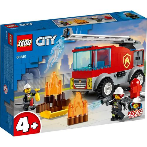 Lego City Fire Ladder Truck 60280