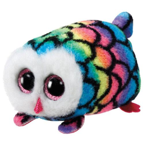 Ty Teeny 4 Inch Hootie The Multicolor Owl