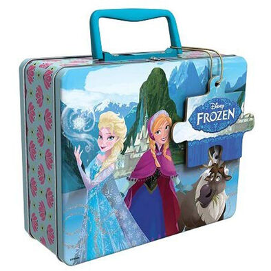 Disney Frozen In Tin With Handle