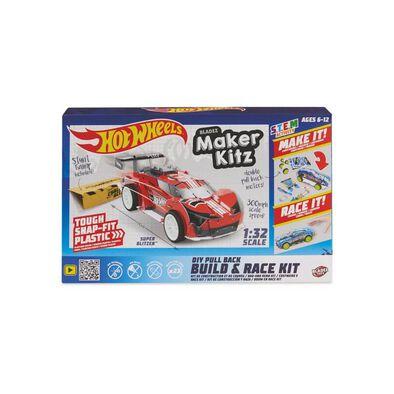 Hot Wheels Maker Kitz Single Car Red - Assorted