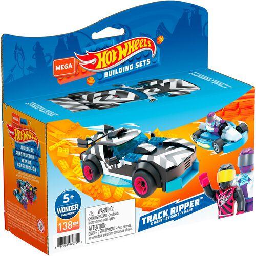 Mega Construx Hot Wheels Racer & Kart Off Duty - Assorted