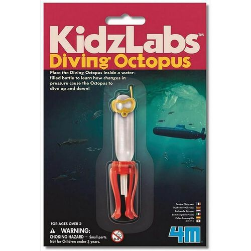 4M KidzLabs Diving Octopus