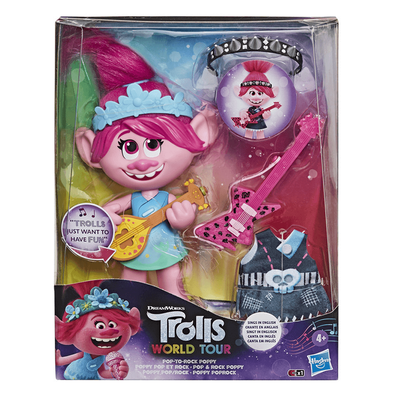 Trolls World Tour Pop To Rock Poppy