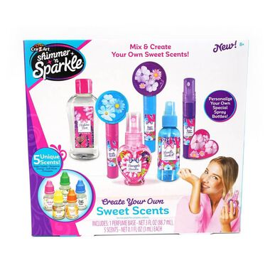 Cra-Z-Art Shimmer And Sparkle Mix and Create Your Own Sweet Scents