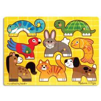 Melissa & Doug -Mix And Match Puzzle - Assorted