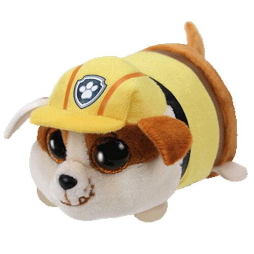 TY Teeny 4 Inch Paw Patrol Rubble The Bulldog
