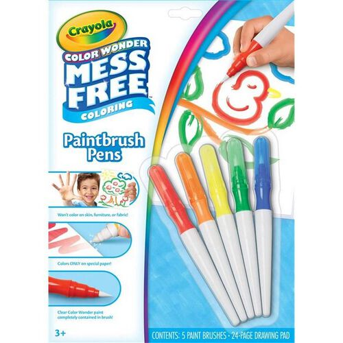 Crayola Color Wonder Mess Free Paint Brush Pens