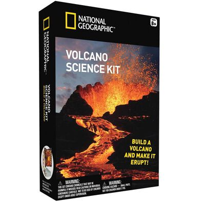National Geographic Build Your Own Volcano Science Kit