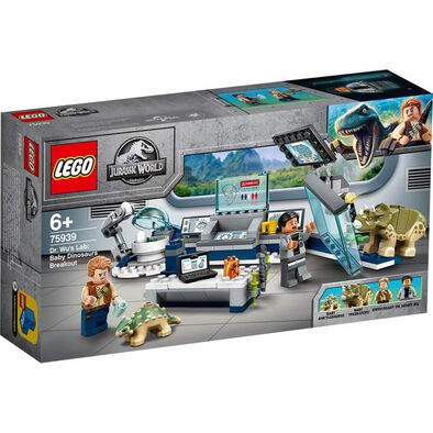 LEGO Jurassic World Dr. Wu's Lab: Baby Dinosaurs Breakout​ 75939