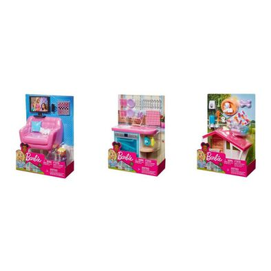 Barbie Furniture Indoor Accessories - Assorted