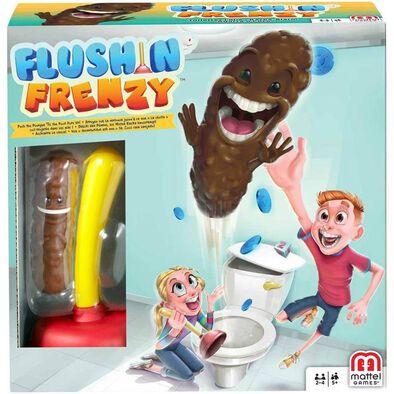 Flushin Frenzy Funny Toilet Game