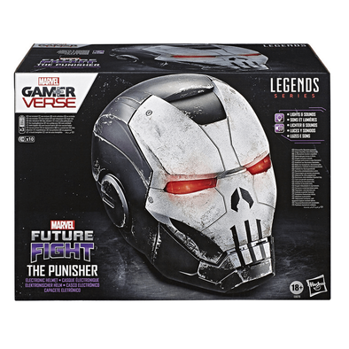 Marvel Legends Series Gamerverse The Punisher Electronic Helmet